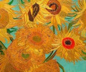 sunflowers and van gogh image