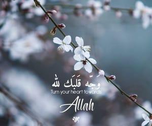 allah, heart, and Iman image
