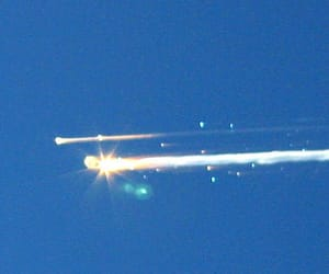 light, Space Shuttle, and space image