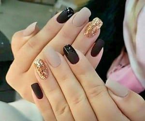 nails and black image