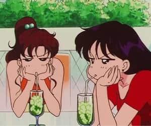 anime, sailor moon, and gif image