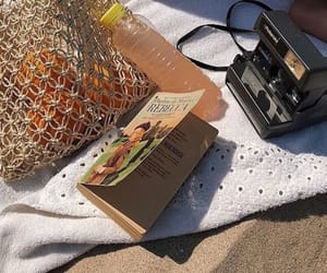 book and beach image