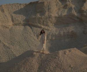 art, desert, and fashion model image