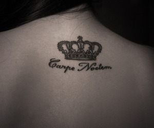 tattoo and crown image