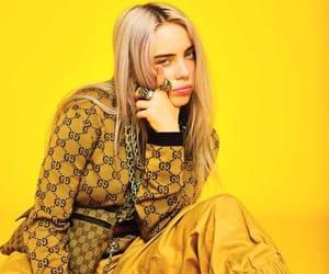 yellow and billie eilish image