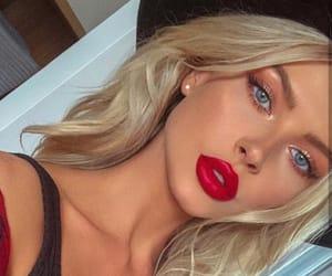 makeup, beauty, and girls image
