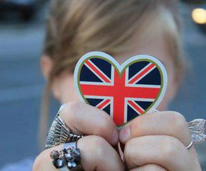 girl, heart, and london image