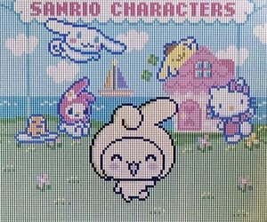 cyber, sanrio, and cute image
