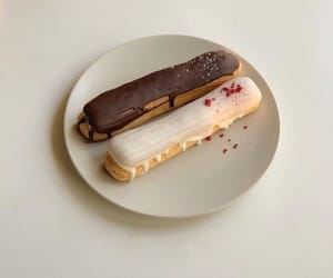 delicious, food, and eclair image