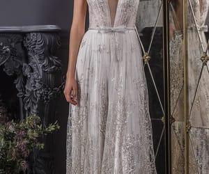 wedding dress, wedding, and beautiful image