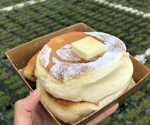 food, cake, and pancakes image