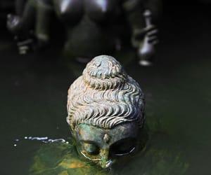 water, Buddha, and buddhism image