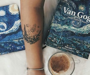 art, bracelet, and coffee image