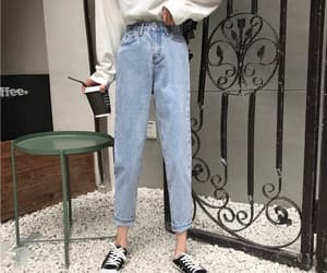 cooked, jeans, and thin image