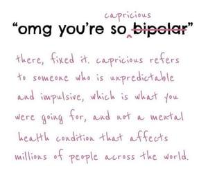 bipolar, mental, and mental health image