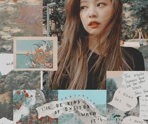 jennie, blackpink, and wallpaper image