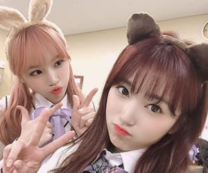 izone, chaewon, and nako image