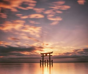 japan, sunset, and instagram image