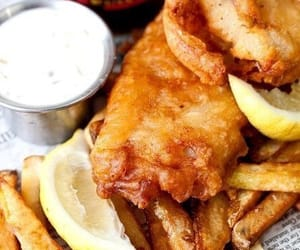 fish and chips and food image