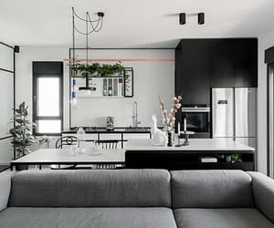 apartments, black and white, and contemporary image