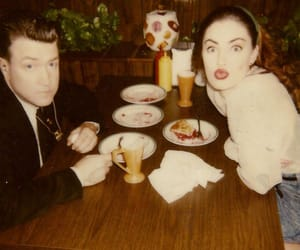 Madchen Amick, david lynch, and Twin Peaks image