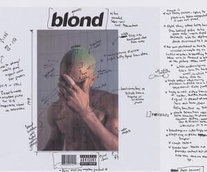 frank ocean, blond, and album image