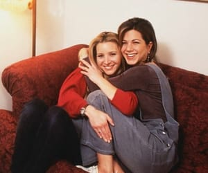 friends, rachel, and phoebe image