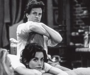 90s, black and white, and chandler image