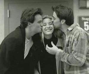 friends, black and white, and 90s image