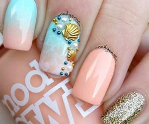summer nails, summer nail art, and summer nails designs image
