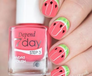 summer nail art, summer nails, and summer nails designs image