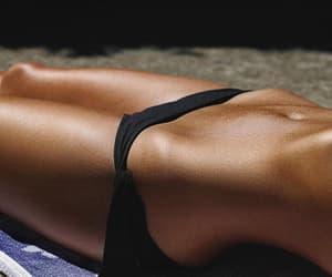 abs, beach, and bikini image
