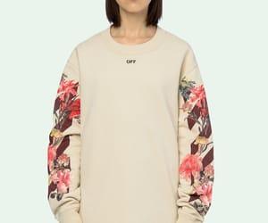 fashion, flower, and oversize image