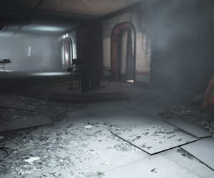 abandoned, dark, and dust image