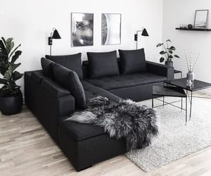 black, inspiration, and interior image
