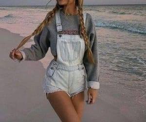 style, aesthetic, and beach image