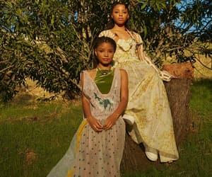 family, melanin, and makeup image