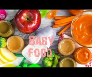 video, healthy baby food, and baby food recipes image