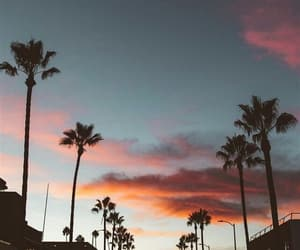 wallpaper, sky, and sunset image