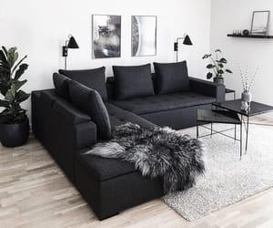 black, inspiration, and interior image