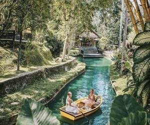 bali, boats, and heaven image