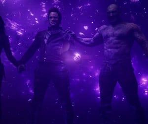 heroes, Marvel, and purple image