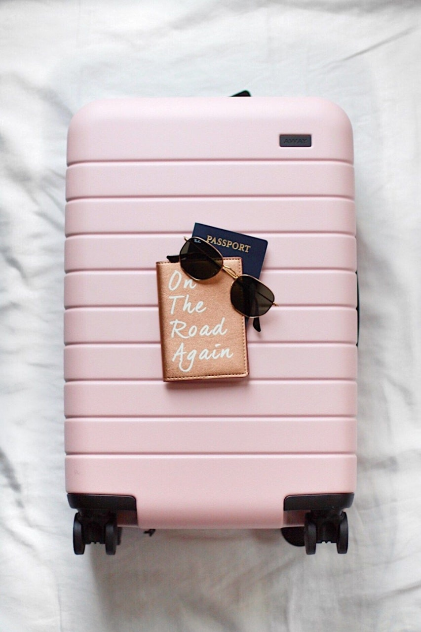 travel and pink image