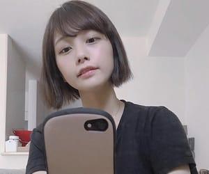 asian, asian girl, and bob image