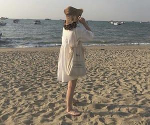 beach, beige, and f image