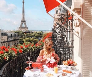 girl, france, and travel image