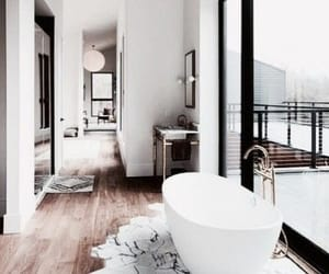 bathroom, home, and bath image