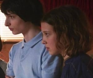 eleven, millie bobby brown, and mike wheeler image