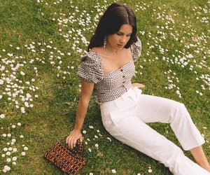 accesories, vichy, and white denim image