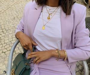 accesories, blazer, and purple image
